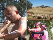 Làng sao - Tiến Đạt, Hương Giang làm thổ dân, lùa cừu ở Australia