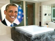 Video: Cận cảnh phòng tắm 4 tỷ Tổng thống Obama ở tại Hà Nội