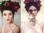 Làm đẹp - 20 mẫu tóc cưới lãng mạn bắt nguồn xúc cảm từ hoa