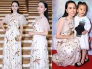 Làng sao - Linh Nga dành quà tặng đặc biệt cho mẹ và con gái