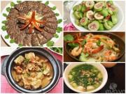 Bếp Eva - Thực đơn cơm chiều cuối tuần đầy hấp dẫn