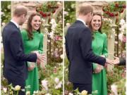 Làng sao - Công nương Kate tươi rói trong lễ hội hoa có tên con gái
