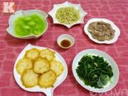 Bếp Eva - Thực đơn cơm chiều ngon miệng và hấp dẫn