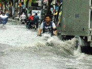 Tin tức - Mưa một giờ, đường phố Sài Gòn ngập khủng khiếp