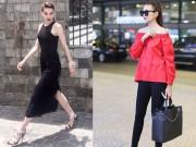 Thời trang - Tuần qua: Thanh Hằng, Hà Hồ mong manh hút mắt trên phố