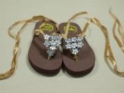 Thời trang - Chế tông thành sandals siêu xinh đi biển
