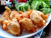 Bếp Eva - Cánh gà nhồi khoai tây lạ miệng mà ngon