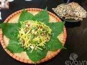 Bếp Eva - Gỏi hến trộn trái cóc dân giã lạ miệng