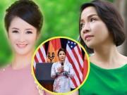 """Làng sao - Hồng Nhung buồn vì Mỹ Linh bị """"vùi dập"""" vụ hát Quốc ca"""