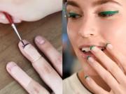 Làm đẹp - Tự vẽ nail hình lông mi cực ấn tượng chỉ mình bạn có