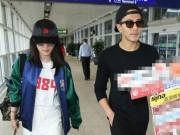 Làng sao - Lưu Khải Uy đến sân bay đón Dương Mịch xóa tin đồn ly hôn