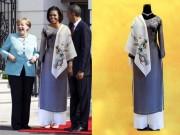 Sự thật đằng sau bức ảnh phu nhân Obama mặc áo dài Việt Nam