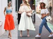 Thời trang - Những mẫu váy xinh và mát đặc trị đôi chân xấu