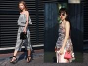 Thời trang - Mặc kệ nắng nóng, bạn gái Hà Nội vẫn mặc đẹp xiêu lòng