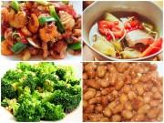 Bếp Eva - Bữa cơm đơn giản, dễ ăn ngày nóng