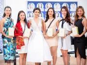 Thời trang - Thúy Vân huấn luyện thí sinh Hoa khôi Áo dài ứng xử trước chung kết
