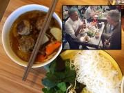"""Bếp Eva - Cơn sốt """"Bún chả Obama"""" lan sang Singapore, bán đắt gấp đôi bản gốc"""