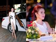 Thời trang - Hoa hậu 3 con Phương Lê hở bạo khi làm giám khảo