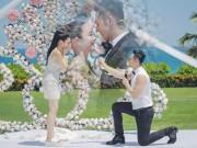 Làng sao - Sau 2 lần ly hôn, sao gốc Việt đính hôn với bạn trai kém 12 tuổi