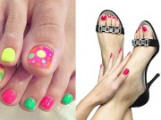 Làm đẹp - Chọn nail cho chân xinh diện tông ngày hè