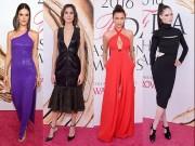 Thời trang - Váy xẻ gợi cảm bị thất sủng trên thảm đỏ CFDA Awards 2016
