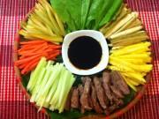 Món ngon nhà mình - Bò sốt tiêu đen cuốn lá cải, món ngon cho ngày hè - MN27121