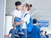 Làng sao - Diệp Bảo Ngọc dẫn con trai đi Hong Kong du lịch hè