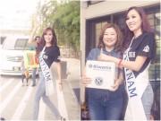 Làng sao sony - Đại diện Việt Nam gây ấn tượng tại Mrs Asia International 2016