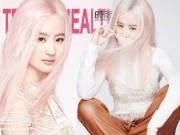 Làng sao - Ngỡ ngàng với hình ảnh Lưu Diệc Phi tóc hồng