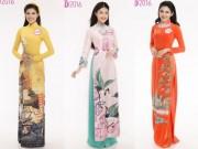 Thời trang - HHVN: Top 30 thí sinh phía Nam rạng rỡ với áo dài