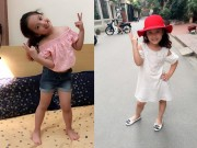 Làm mẹ - Váy áo xinh yêu sành điệu của bé Nhím con gái Hồng Đăng