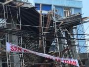 Tin tức - Sập giàn giáo ở Vũng Tàu: 2 người mắc kẹt đã tử vong