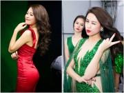Làng sao - Hoàng Thùy Linh gợi cảm, một ngày chạy show 4 sự kiện