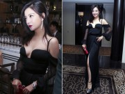 Làng sao - Triệu Vy ăn mặc táo bạo xuất hiện tại sự kiện