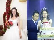 Lê Thị Phương hạnh phúc ngọt ngào bên chồng trong tiệc cưới
