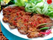 Bếp Eva - Thịt bò khô đầy hấp dẫn cho ông xã lai rai