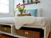 Đủ mẹo cất đồ dưới gầm giường gọn gàng mà đẹp nhà