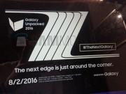 Eva Sành điệu - Galaxy Note 7 ra mắt ngày 2/8 tại Mỹ