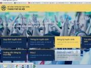 Tin tức - Hà Nội: Hướng dẫn đăng ký tuyển sinh trực tuyến đầu cấp