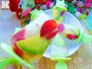 Bếp Eva - Kem trái cây mát lạnh, ngon ngất ngây