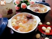 Bếp Eva - Chè hạt sen nấm tuyết bổ dưỡng mát lạnh cho ngày hè