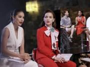 Thời trang - Hà Hồ, Phạm Hương đấu khẩu trên ghế nóng The Face