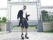 Thời trang - Lý Quí Khánh dạo phố với phong cách quý tộc
