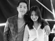 """Làng sao - Song Joong Ki và Song Hye Kyo """"tình trong như đã"""" tại fanmeeting"""
