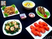 Bếp Eva - Bữa ăn chiều nhiều món mà ngon