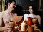 Clip Eva - Video: Nhà hàng khỏa thân độc đáo tại London