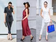Thời trang - Phạm Hương gợi ý thời trang công sở đẹp từng centimet