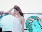 Thời trang - Á hậu Tú Anh khoe khéo trang sức đắt tiền bạn trai tặng