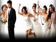 """Cuộc sống hạnh phúc của 5 mỹ nhân phim  """" Cô dâu đại chiến 1 """""""