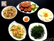 Bếp Eva - Bữa cơm có cá kho, rau muống luộc vô cùng ngon miệng